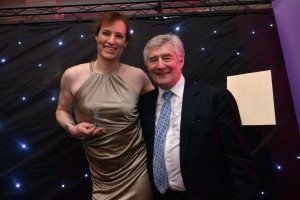 Beckie Fox and Tony Llyod (Greater Manchester Police and Crime Commissioner and interim Mayor of Greater Manchester)