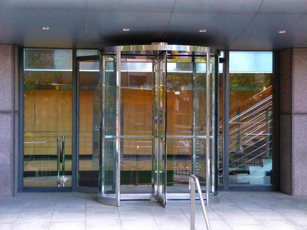 transparent door