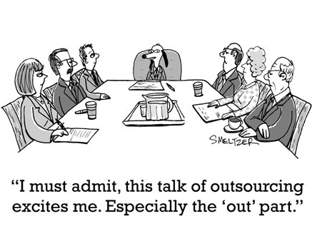 dog+outsourcing+board+room+cartoon