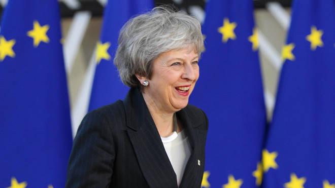 Theresa May EU Brexit UK